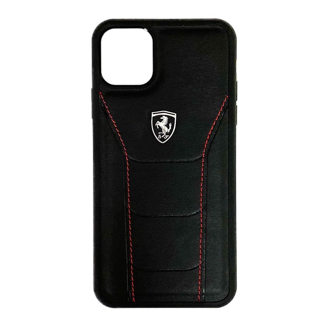Ferrari Heritage Leather Case For Iphone 12 Series Executive Ample