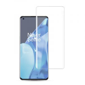 KUZOOM 3D Curved EDGE Full Screen Tempered Glass Protector Film for OnePlus 9 Pro