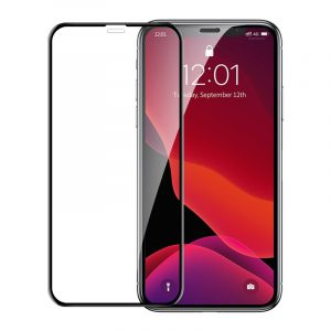 Baseus 0.23mm Curved-Screen Tempered Glass Screen Protector with Crack-Resistant Edges & Anti-Blue Light