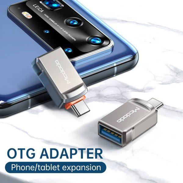 Mcdodo USB-A to Type-C Mini OTG Adapter