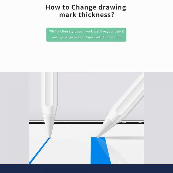WiWU Pencil Pro Palm Rejection Capacitive Stylus Pen