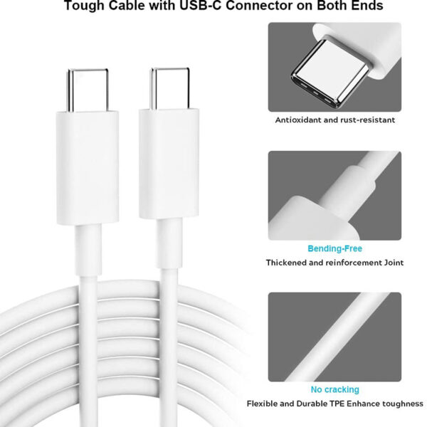 Genuine Google Pixel Type C To Type C Charging & Data Sync Cable