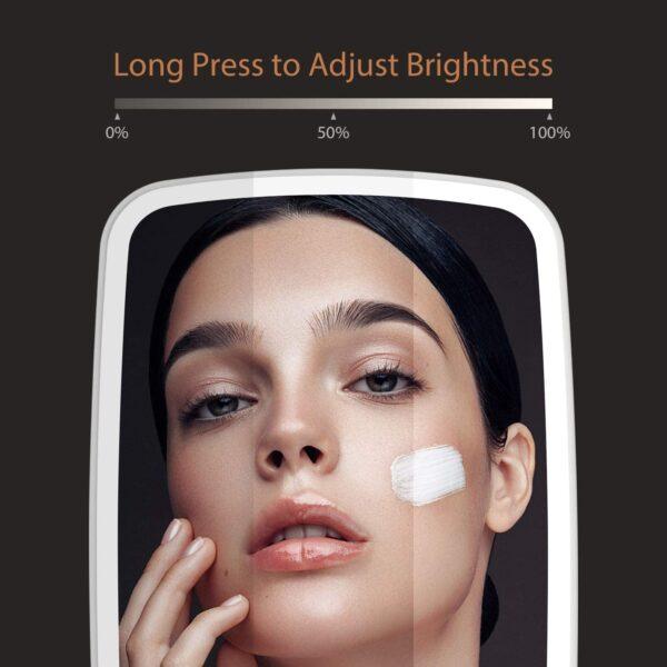 Jordan & Judy Adjustable Brightness Lights Portable LED Makeup Mirror Lamp