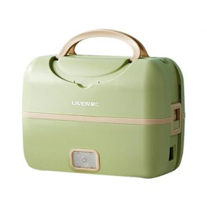 LIVEN FH-18 Electric Lunch Box Portable Smart Cooking Silent Heating Sealed for Travel