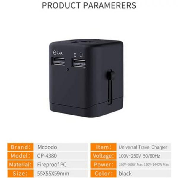 Mcdodo Universal Travel Charger