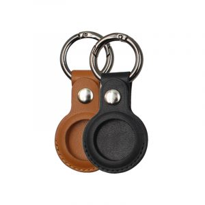 RAIGOR INVERSE Genuine Leather Protective Cover for AirTags