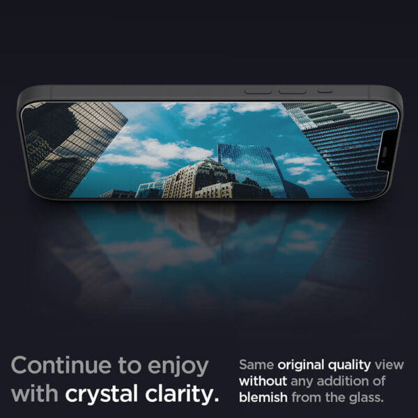 Spigen GLAS.tR SLIM HD Screen Protector for iPhone 12 Series