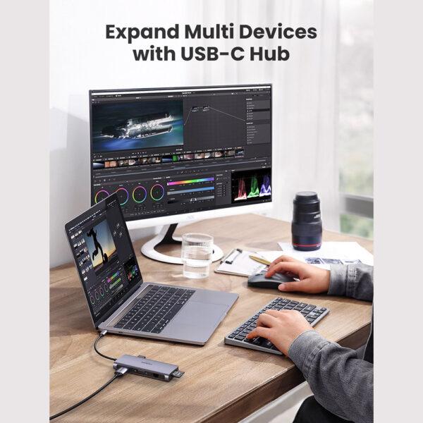 UGREEN 9 in 1 USB-C Multifunctional Hub Adapter