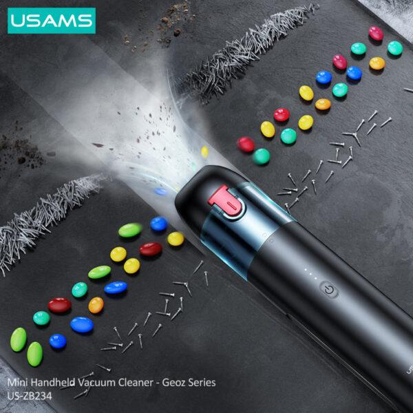 Usams Geoz Series Mini Handheld Vacuum Cleaner
