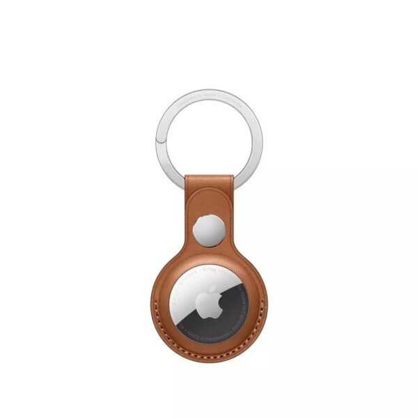 WiWU Leather Keyring for AirTags