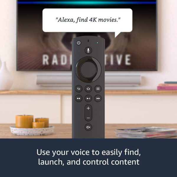 Fire TV Stick 4K streaming device with Alexa Voice Control Remote