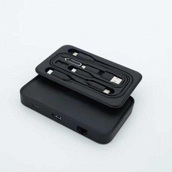 JSAUX OmniCase USB-C Hub Combined Electronic Organizer