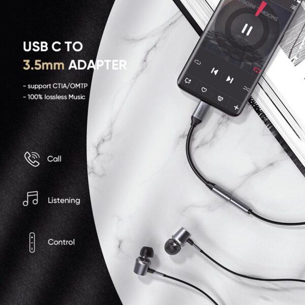 UGREEN USB-C To 3.5MM Female Audio Adapter