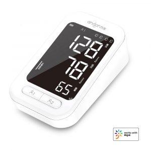 Andon Smart Blood Pressure Monitor Arm Heart Beat Rate Pulse Meter