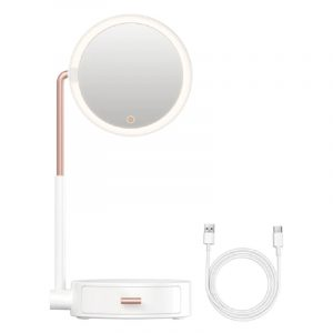 Baseus Smart Beauty Series Lighted Makeup Mirror with Storage Box
