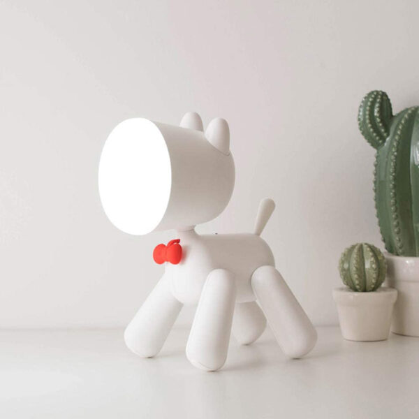 European Waggy Puppy Lamp