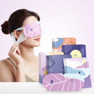 JISULIFE Eye Mask Steam Hot Compress Eye Protection Self-heating Dark Circles Sleep Aid 10Pcs Box