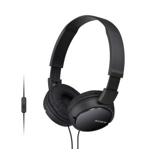 SONY MDR-ZX110AP Wired On-Ear Headphones with Mic