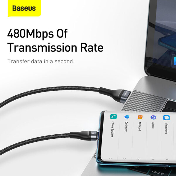 Baseus Flash Series One-for-Three Fast Charging Data Cable