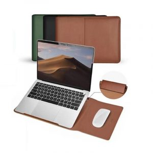 COTEetCI Multifunction Leather Liner Bag for MacBook Pro Air 13