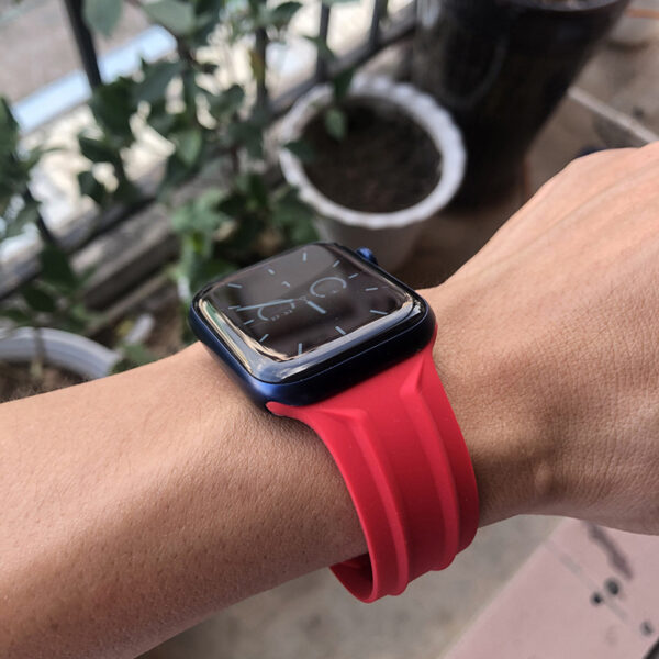 GRAY CYBER BAND® APPLE WATCH BAND