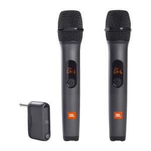 JBLWIRELESS Two Vocal Microphone System