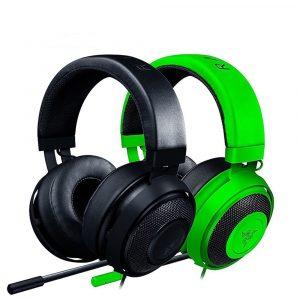 Razer Kraken Pro V2 Analog Gaming Headset Circular Ear Cushions Wired Headset