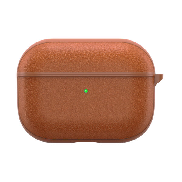 WiWU Portable Calfskin Genuine Leather Case for AirPods Pro