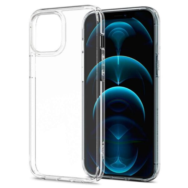 Spigen Ultra Hybrid Crystal Clear Case for iPhone 12 Series