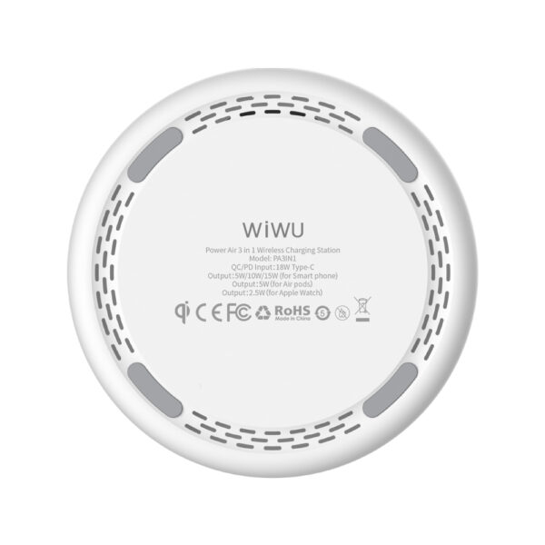 WiWU 15W Power Air 3 in 1 Wireless Charger