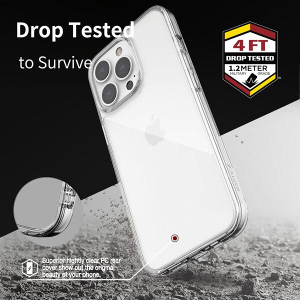 X-DORIA Defense Raptic Clearvue Case for iPhone 13 Series