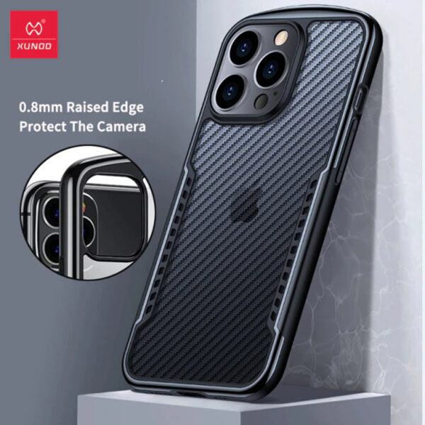 Xundd Airbag Bumper Shockproof Case with Heat Dissipation for iPhone 13 Series
